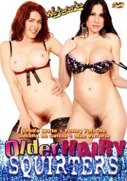 """Just Added presents the adult entertainment movie """"Older Hairy Squirters""""."""