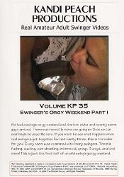 Straight Adult Movie Kandi Peach Productions 35: Swinger's Orgy Weekend