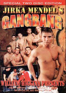 Jirka Mendel's Gangbang, starring Thomas Vodnik, Milos Mann, Martin Kask, Douhan, Danek, Mirek Voight, Bjorn Gedda, Josef