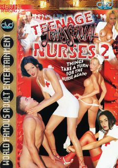 "Adult entertainment movie ""Teenage Transsexual Nurses 2"" starring Caroline Mancini, Alexia Nogueira & Evangelista Daniele. Produced by Robert Hill Releasing Co.."