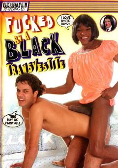 "Adult entertainment movie ""Fucked By A Black Transvestite"" starring Ivan Home, James Matarazo & Igor Black. Produced by Robert Hill Releasing Co.."