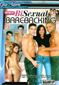 "Adult entertainment movie ""Bisexual Barebacking"" starring Ellen Padilha, Carol Ferrari & Rubi Perlatto. Produced by Robert Hill Releasing Co.."