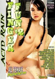 "Featured Star - Sasha Grey presents the adult entertainment movie ""Finger Fun 2""."