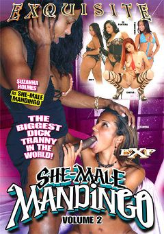 "Adult entertainment movie ""She-Male Mandingo 2"" starring Suzy Anderson, Suzana Holmes & Sheyla Dantas. Produced by EXP Exquisite."