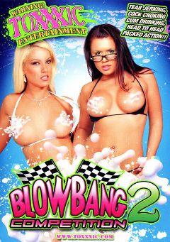 "Adult entertainment movie ""Blow Bang Competition 2"" starring Tricia Oaks, Eva Angelina & Kylie Reese. Produced by Toxxxic Entertainment."