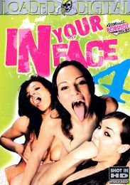 "Featured Star - Sasha Grey presents the adult entertainment movie ""In Your Face 4""."