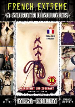"Adult entertainment movie ""French Extreme"". Produced by MEGA-FILM."