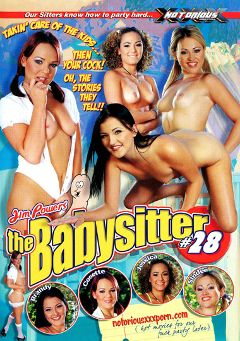 "Adult entertainment movie ""The Babysitter 28"" starring Brandy Bates, Cosette Angelique & Sindee Jennings. Produced by Notorious Productions."