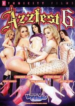 "Adult entertainment movie ""Azzfest 6"" starring Kristina Rose, Jenny Hendrix & Alexis Texas. Produced by Ethnicity Films."