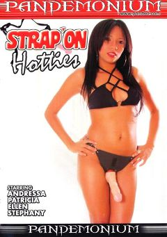 "Adult entertainment movie ""Strap'on Hotties"" starring Patrica Kimberly, Andressa Ximene & Stephany Malmy. Produced by Pandemonium."