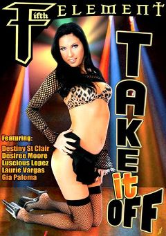 "Adult entertainment movie ""Take It Off"" starring Destiny St. Claire, The Drifter & Vanilla Nyce. Produced by SGO Inc."