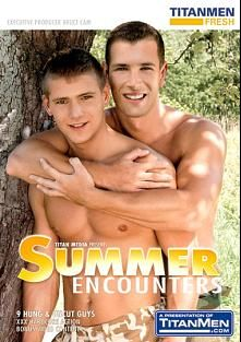 Summer Encounters, starring George Kovar, Micky Coolio, David Platinum, Jay Roberts, Marco Mark, Adam Rush, Felix Slovacek, Vlad Smeshnoi and Mark Laurent, produced by TitanMen Fresh and Titan Media.