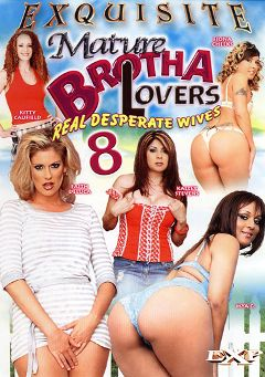 "Adult entertainment movie ""Mature Brotha Lovers 8"" starring Kailey Stevens, Kitty Caulfield & Fayth Deluca. Produced by EXP Exquisite."