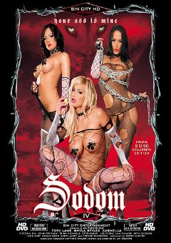 "Adult entertainment movie ""Sodom 4"" starring Carmella Bing, Tory Lane & Shyla Stylez. Produced by Sin City."