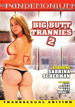 "Adult entertainment movie ""Big Butt Trannies 2"" starring Sabrina Sherman, Matheus Axell & Marco Barnet. Produced by Pandemonium."