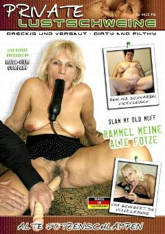 "Adult entertainment movie ""Rammel Meine Alte Fotze"" starring Aranka & Annette. Produced by MEGA-FILM."