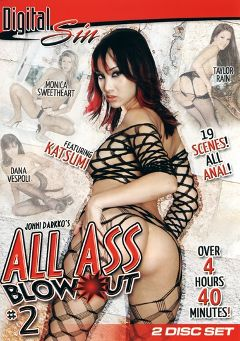 "Adult entertainment movie ""All Ass Blow Out 2 Part 2"" starring Dana Vespoli, Janet Peron & Michelle B.. Produced by Digital Sin."