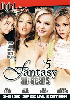 "Adult entertainment movie ""Fantasy All Stars 5"" starring Ashlynn Brooke, Bree Olson & Julia Bond. Produced by Digital Sin."