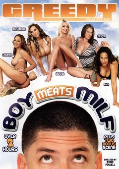 "Adult entertainment movie ""Boy Meats Milf"" starring Lauren Vaughn, Alisandra Monroe & Devon Lee. Produced by Greedy Reality XXX."