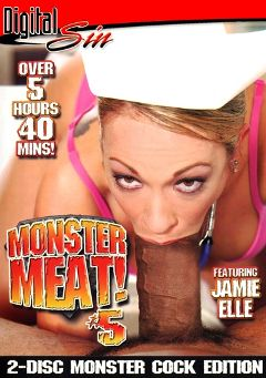 "Adult entertainment movie ""Monster Meat 5 Part 2"" starring Jamie Elle, Bree Olson & Lana Croft. Produced by Digital Sin."