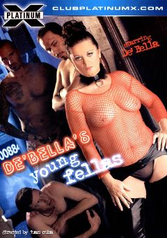 "Adult entertainment movie ""De'Bella's Young Fellas"" starring De' Bella, Haiko Titan & Josh Hunter. Produced by Platinum X Pictures."