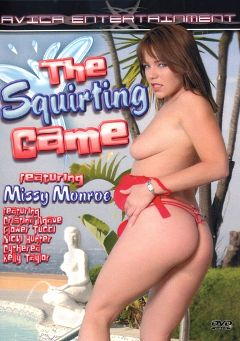 "Adult entertainment movie ""The Squirting Game"" starring Missy Monroe, Justin Magnum & Sergio. Produced by Avica Entertainment."