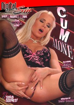 "Adult entertainment movie ""Cum Alone"" starring Cindy Dollar, Aneta Head & Ginger B.. Produced by Digital Sin."