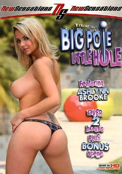 "Adult entertainment movie ""Big Pole Little Hole"" starring Ashlynn Brooke, Viki La Vie & Kyra Steele. Produced by New Sensations."
