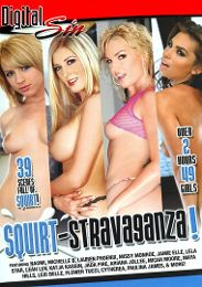 "Featured Star - Lexi Belle presents the adult entertainment movie ""Squirt Stravaganza""."