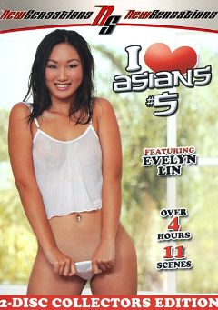 "Adult entertainment movie ""I Love Asians 5 Part 2"" starring Evelyn Lin, Brother Love & Miko Sinz. Produced by New Sensations."