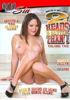 "Adult entertainment movie ""2 Heads R Better Than 1 2"" starring Jaclyn Case, Crista Moore & Holly West. Produced by Digital Sin."
