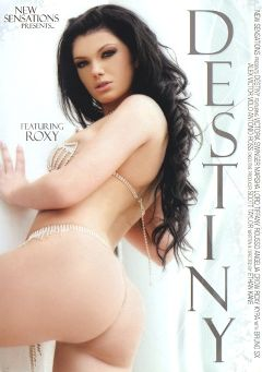 "Adult entertainment movie ""Destiny"" starring Roxy Panther, Alex Forte & Kyra Tyelar. Produced by New Sensations."