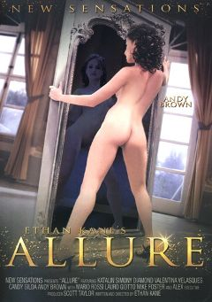 "Adult entertainment movie ""Allure"" starring Andy Brown, Candy Blond & Alex Forte. Produced by New Sensations."