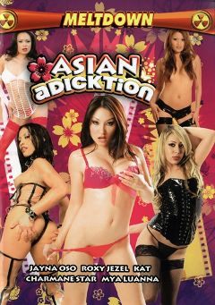 "Adult entertainment movie ""Asian Adicktion"" starring Mya Luanna, Jayna Oso & Roxy Jezel. Produced by Meltdown."