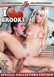 """Featured Series - I Love... presents the adult entertainment movie """"I Love Brooke""""."""