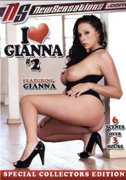 """Featured Series - I Love... presents the adult entertainment movie """"I Love Gianna 2""""."""