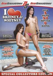 """Featured Series - I Love... presents the adult entertainment movie """"I Love Britney And Whitney""""."""