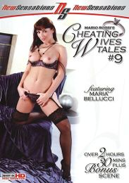 "Featured Series - Cheating Wives Tales presents the adult entertainment movie ""Cheating Wives Tales 9""."