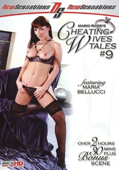 "Adult entertainment movie ""Cheating Wives Tales 9"" starring Maria Bellucci, Jerry Kovacs & Jordan Kingsley. Produced by New Sensations."