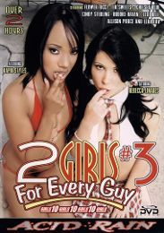 "Featured Star - Rebeca Linares presents the adult entertainment movie ""2 Girls For Every Guy 3""."