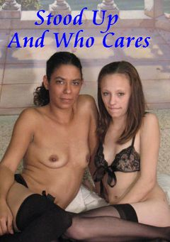 "Adult entertainment movie ""Stood Up And Who Cares"" starring Tahiti & Serenity. Produced by Hot Clits Video."