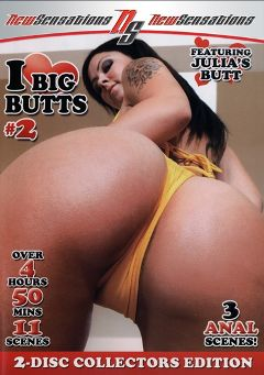"Adult entertainment movie ""I Love Big Butts 2 Part 2"" starring Julia Bond, Kristina Rose & Jenny Hendrix. Produced by New Sensations."