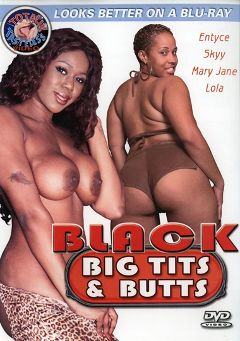 "Adult entertainment movie ""Black Big Tits And Butts"" starring Entice, Lola Lane & Cassity. Produced by Totally Tasteless Video."