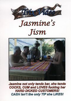 "Adult entertainment movie ""Jasmine's Jism"" starring Jasmine. Produced by Trix Productions."