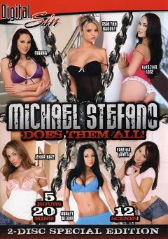 "Adult entertainment movie ""Michael Stefano Does Them All"" starring Kristina Rose, Ashlynn Brooke & Audrey Bitoni. Produced by Digital Sin."