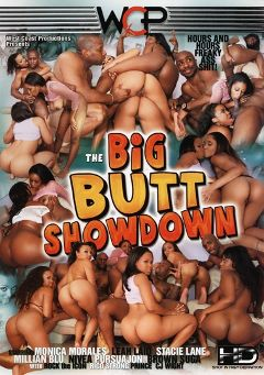 "Adult entertainment movie ""The Big Butt Showdown"" starring Leah Laid, Jaslin Diaz & Stacie Lane. Produced by West Coast Productions."