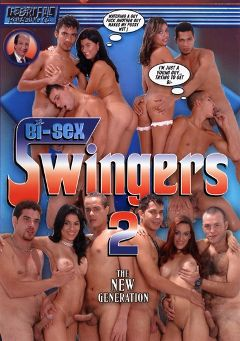"Adult entertainment movie ""Bi-Sex Swingers 2"" starring Carol Sampaio, Andre Ribeiro & Sara Lemos. Produced by Robert Hill Releasing Co.."