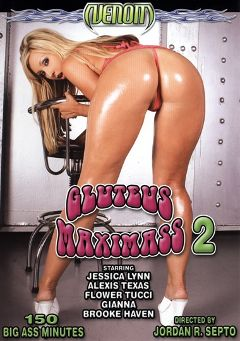 "Adult entertainment movie ""Gluteus Maximass 2"" starring Jessica Lynn, Alexis Texas & Gianna Michaels. Produced by Venom Digital Media."