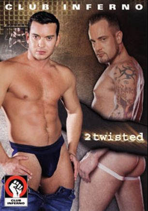 2 Twisted, starring Nick Piston, Carlos Morales, Bastian Forloux, Joey O'Bryan, Mike Power, Derrick Hanson, Dillon Press, Nick Capra and Tony Serrano, produced by Falcon Studios Group, Hot House Entertainment and Club Inferno.