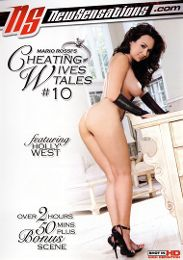 "Featured Series - Cheating Wives Tales presents the adult entertainment movie ""Cheating Wives Tales 10""."